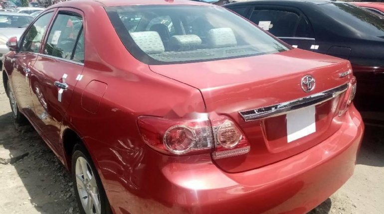 Foreign Used 2010 Red Toyota Corolla for sale in Lagos. -5