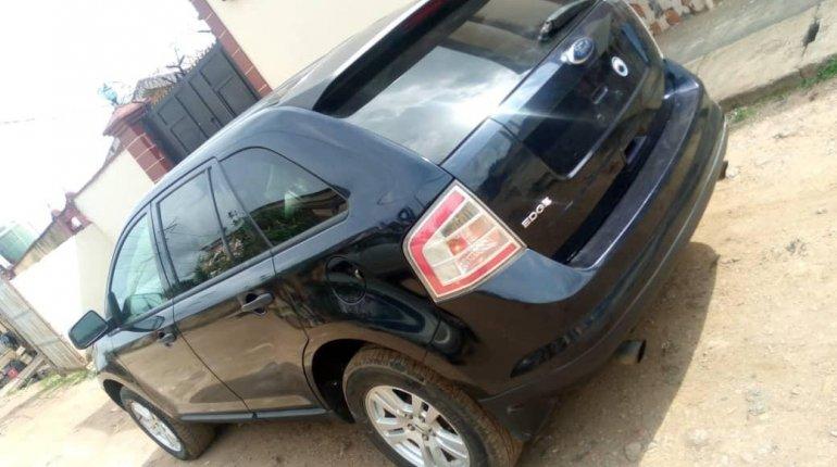 Nigeria Used Ford Edge 2009 Model Black-6