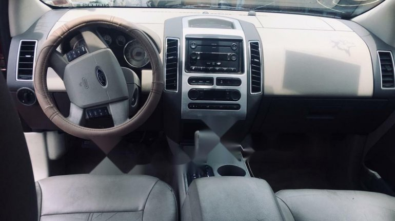 Foreign Used Ford Edge 2008 Model Red-5