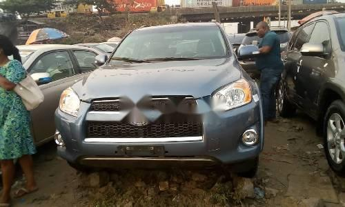 Foreign Used 2010 Grey Toyota RAV4 for sale in Lagos. -0