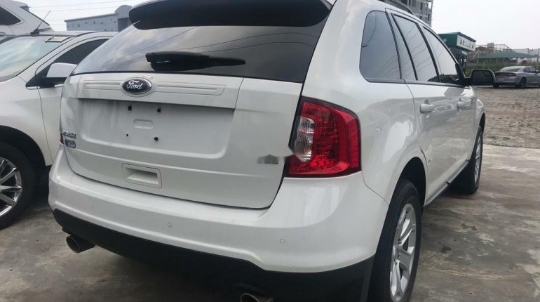 Foreign Used Ford Edge 2012 Model White-3