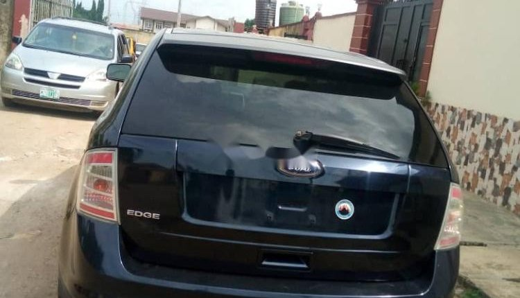 Nigeria Used Ford Edge 2009 Model Black-3