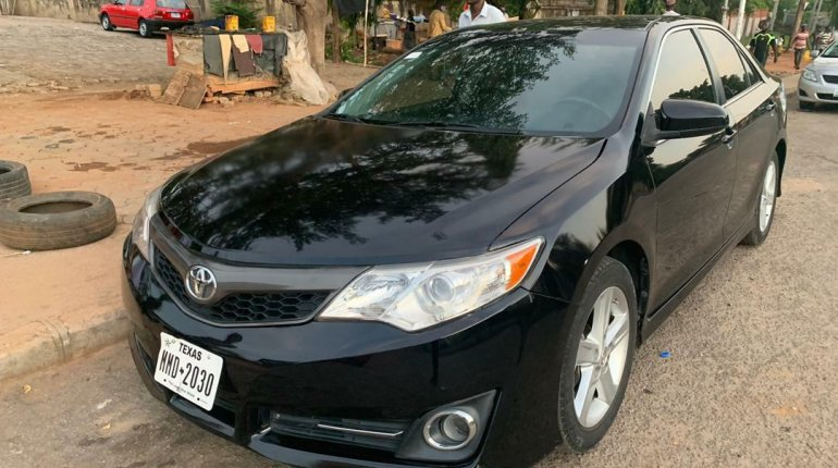 Foreign Used Toyota Camry 2014 Model Black-2