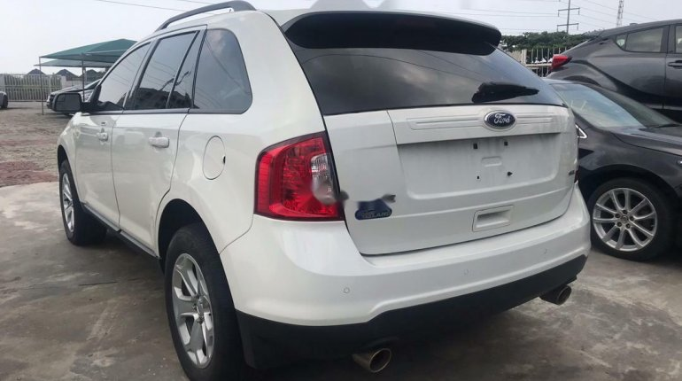 Foreign Used Ford Edge 2012 Model White-2