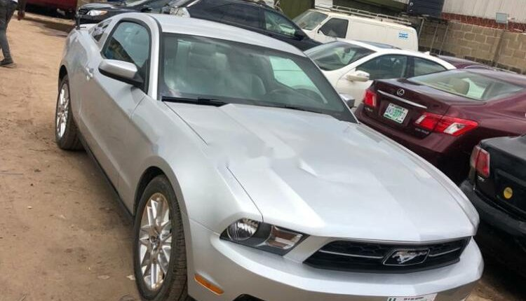 Foreign Used Ford Mustang 2012 Model Silver-0