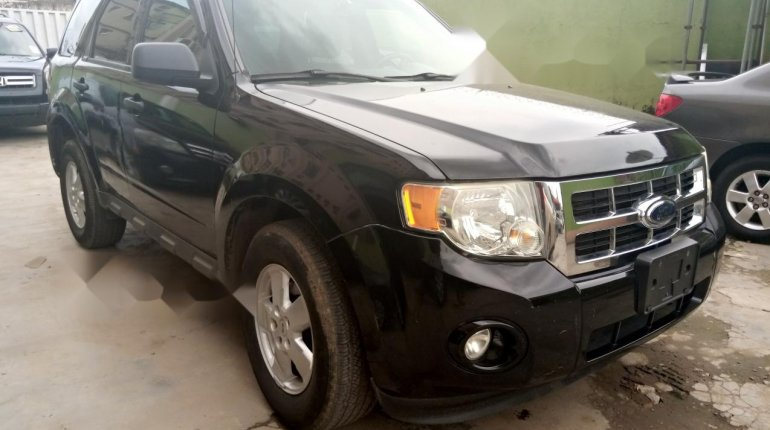 Foreign Used Ford Escape 2009 Model Black-3
