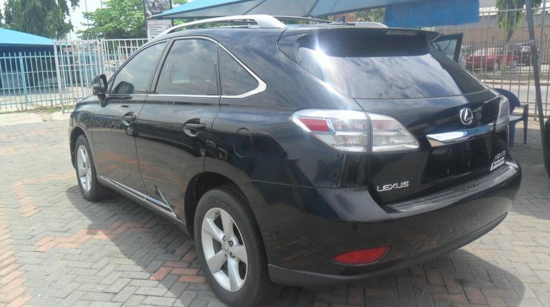 Foreign Used Lexus RX 2010 Model Black-8