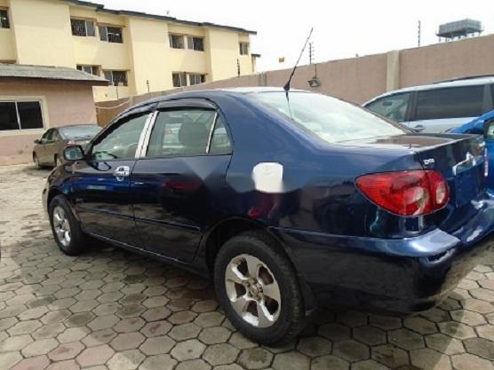 Nigeria Used Toyota Corolla 2005 Model Blue -4