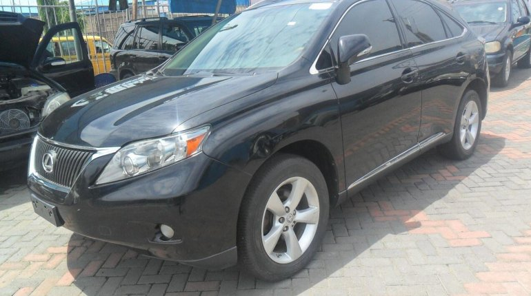Foreign Used Lexus RX 2010 Model Black-3