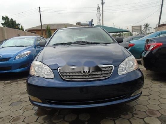 Nigeria Used Toyota Corolla 2005 Model Blue -0