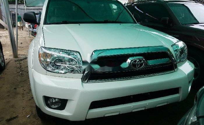 Foreign Used Toyota 4-Runner 2006 Model White-0