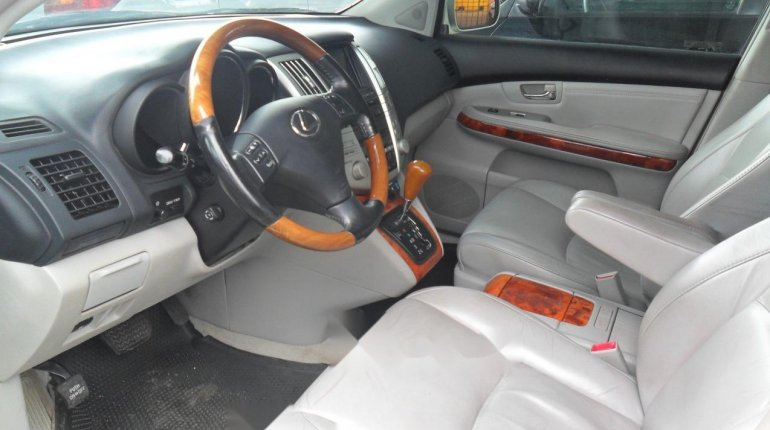 Foreign Used Lexus RX 2004 Model Silver-5