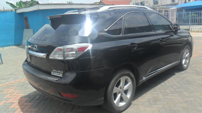 Foreign Used Lexus RX 2010 Model Black-7