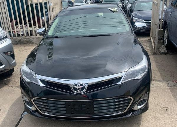 Foreign Used Toyota Avalon 2015 Model Black -1