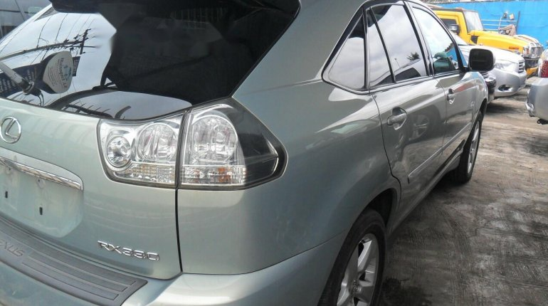 Foreign Used Lexus RX 2004 Model Silver-7