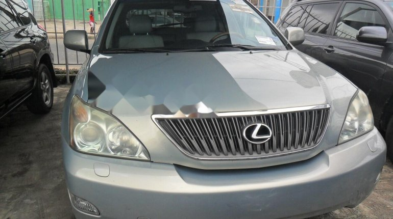 Foreign Used Lexus RX 2004 Model Silver-0