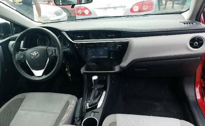 Foreign Used Toyota Corolla 2017 Model Red-2