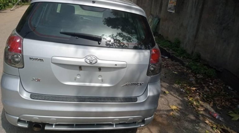 Foreign Used Toyota Matrix 2007 Model Silver-5