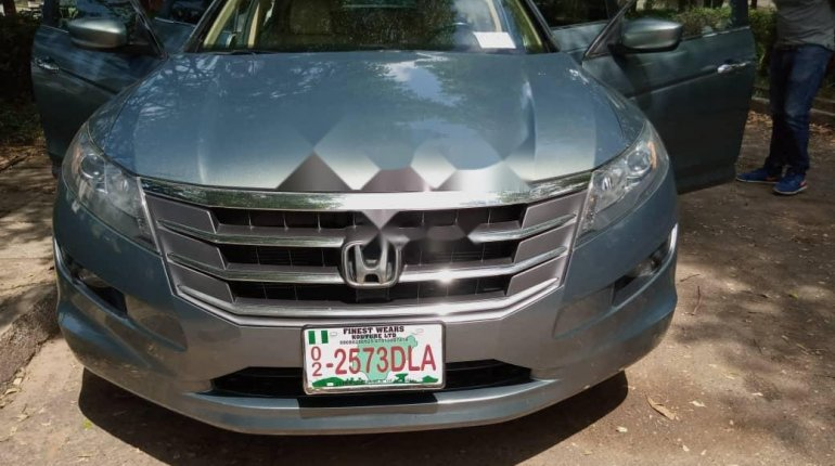 Foreign Used Honda Accord CrossTour 2010 Model Silver-0