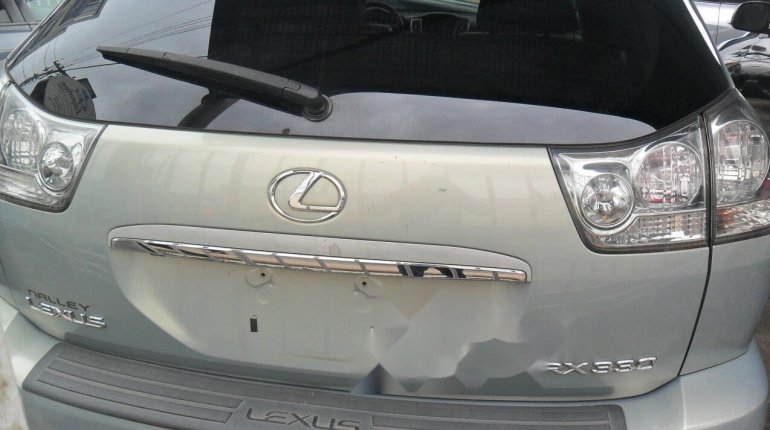Foreign Used Lexus RX 2004 Model Silver-1