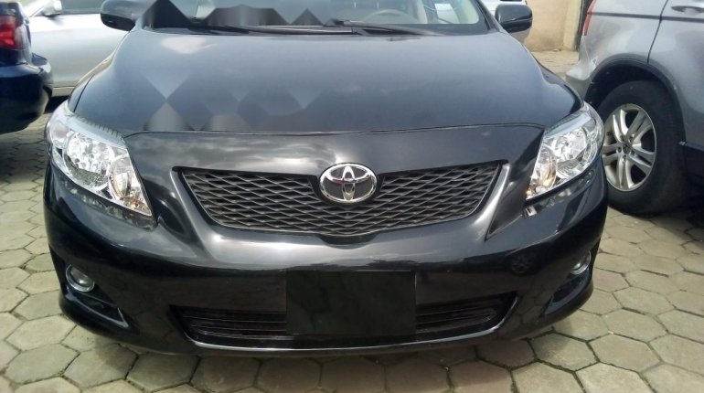 Foreign Used Toyota Corolla 2010 Model Gray-0
