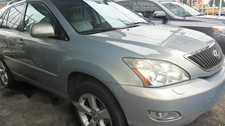 Foreign Used Lexus RX 2004 Model Silver-2