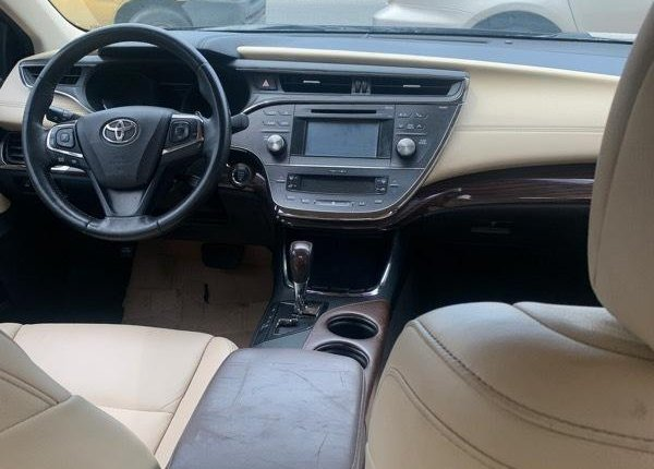 Foreign Used Toyota Avalon 2015 Model Black -3
