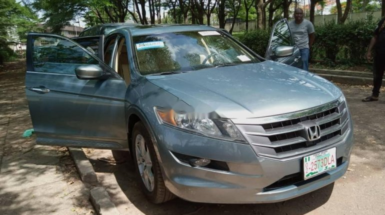 Foreign Used Honda Accord CrossTour 2010 Model Silver-4