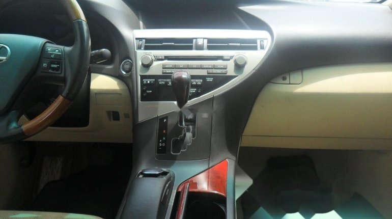 Foreign Used Lexus RX 2010 Model Black-4