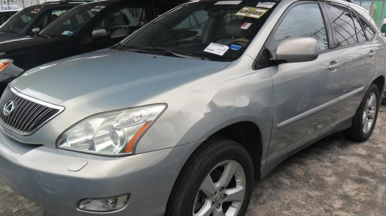 Foreign Used Lexus RX 2004 Model Silver-3