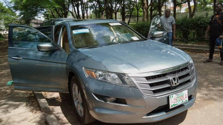 Foreign Used Honda Accord CrossTour 2010 Model Silver-5