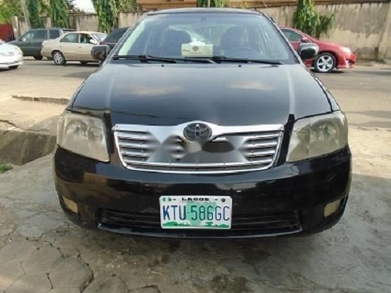 Nigeria Used Toyota Corolla 2005 Model Black-0