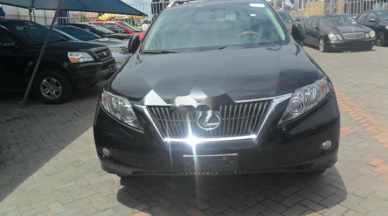 Foreign Used Lexus RX 2010 Model Black-0