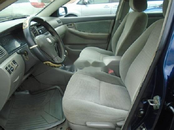 Nigeria Used Toyota Corolla 2005 Model Blue -1