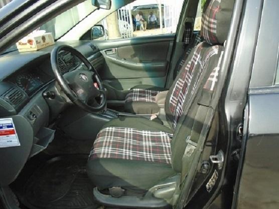Nigeria Used Toyota Corolla 2005 Model Black-4