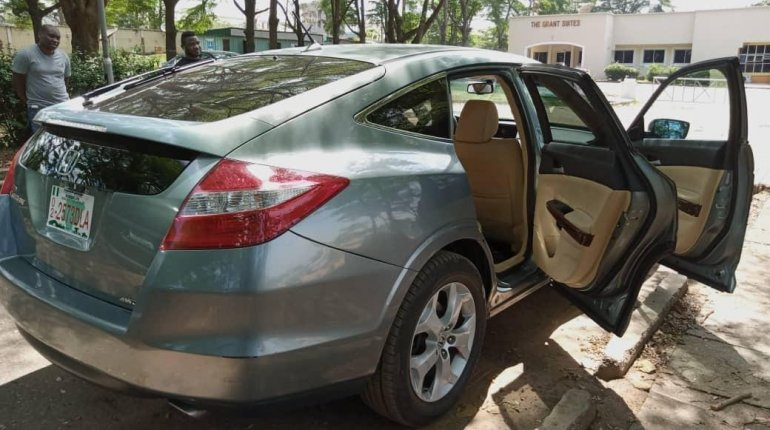 Foreign Used Honda Accord CrossTour 2010 Model Silver-3