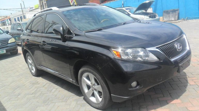 Foreign Used Lexus RX 2010 Model Black-2
