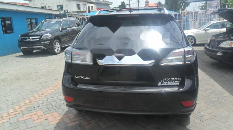Foreign Used Lexus RX 2010 Model Black-1