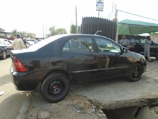 Nigeria Used Toyota Corolla 2005 Model Black-1
