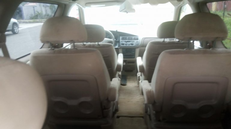 Foreign Used Toyota Sienna 2000 Model Gray-5