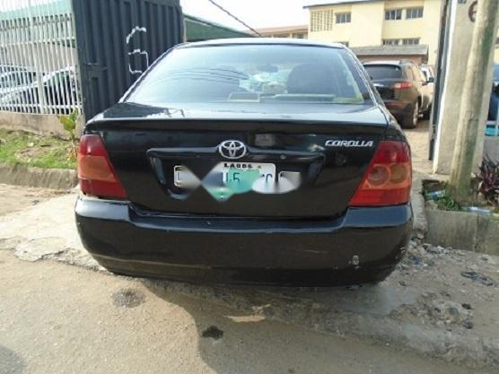 Nigeria Used Toyota Corolla 2005 Model Black-2