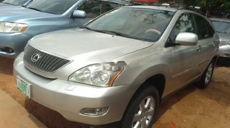 Nigeria Used Lexus RX 2005 Model Silver-1