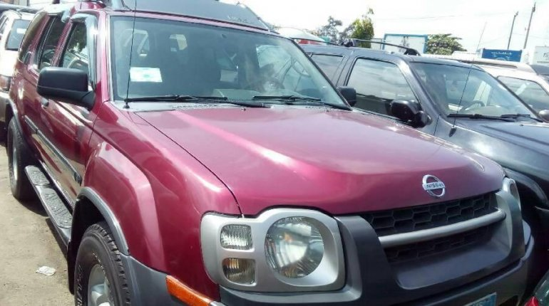 Foreign Used 2004 Model Maroon Nissan Xterra for sale in Lagos-0