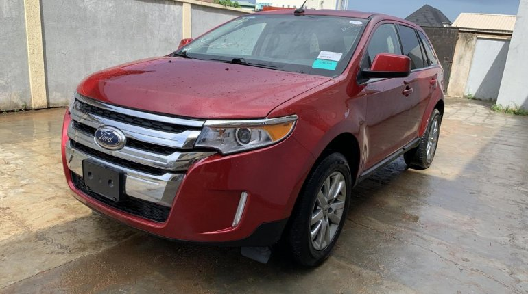 Foreign Used Ford Edge 2011 Model Red-0