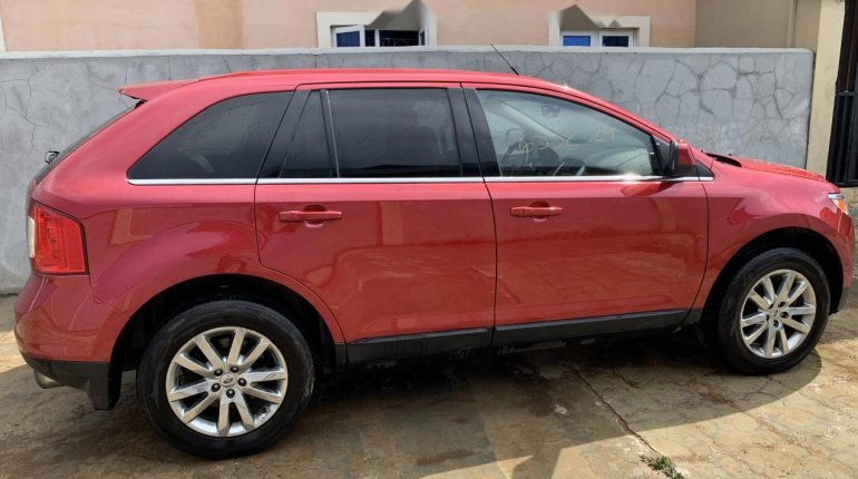 Foreign Used Ford Edge 2011 Model Red-2