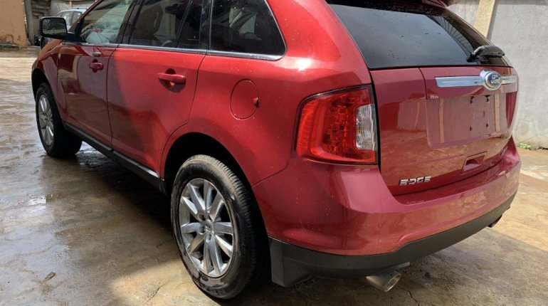Foreign Used Ford Edge 2011 Model Red-9