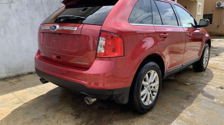 Foreign Used Ford Edge 2011 Model Red-1
