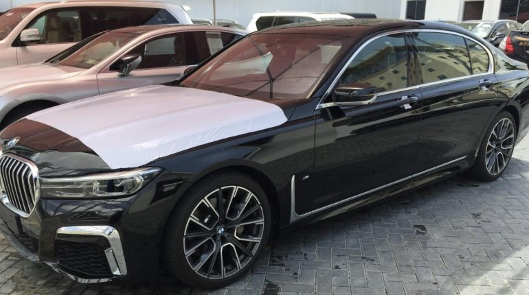 Brand New 2020 Black BMW 7 Series for sale in Lagos. -1