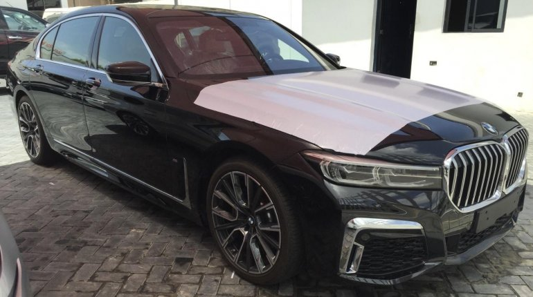 Brand New 2020 Black BMW 7 Series for sale in Lagos. -0