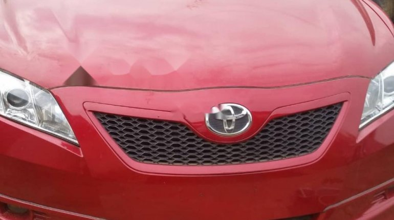 Foreign Used 2007 Red Toyota Camry for sale in Lagos.-0